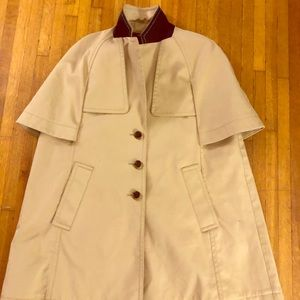 JCREW Raincoat- Woman's NWOT